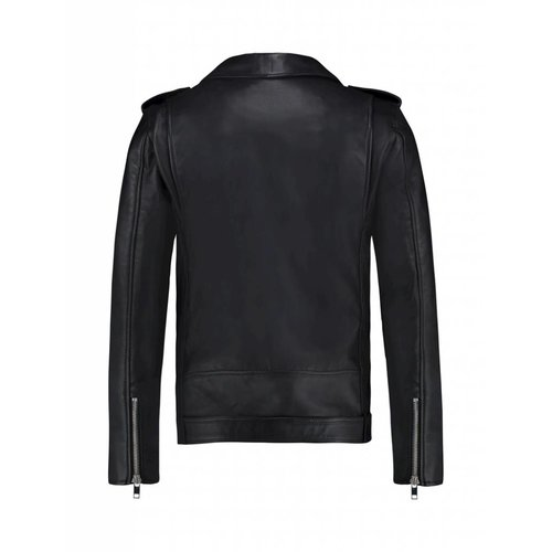 Purewhite Purewhite Classic Biker Jacket