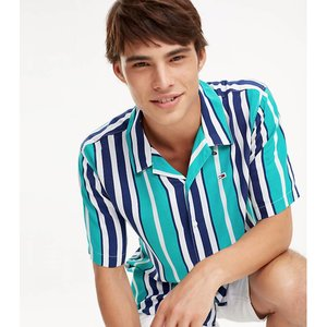Tommy Jeans Tommy Jeans Stripe Camp Shirt