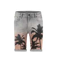 Purewhite Short Palmtrees