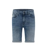 Purewhite Jeans Short Blue