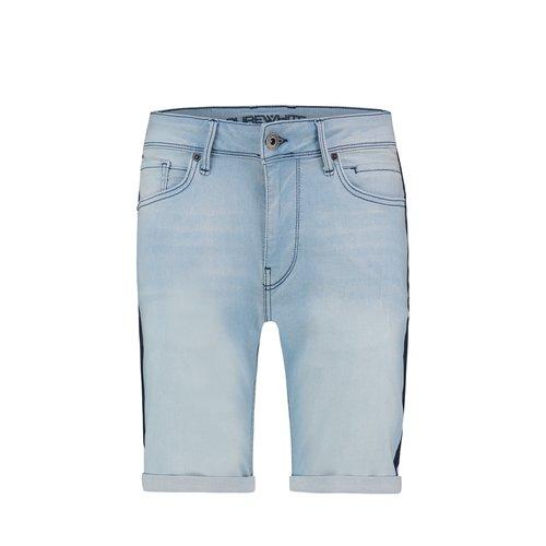 Purewhite Purewhite Jeans Short With Stripes