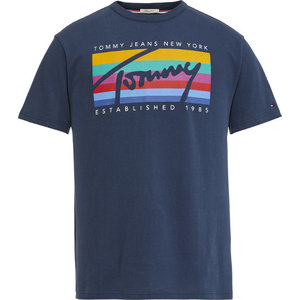 Tommy Jeans Tommy Rainbow Tee