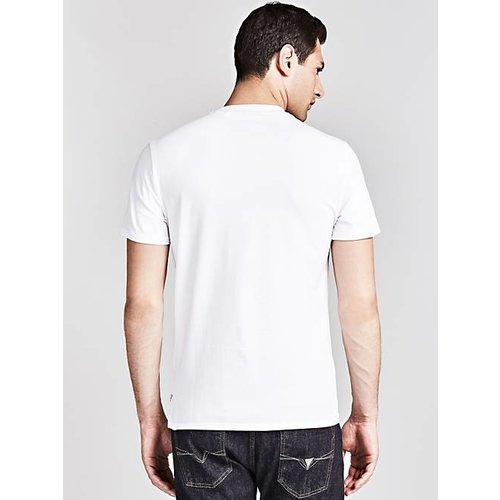 Guess CN SS Cut Stamp Tee
