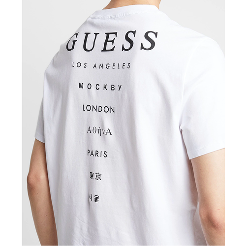 Guess CN SS Drive Off Tee Oversized