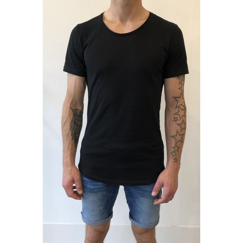 Mansion Shaped Long-fit T-shirt