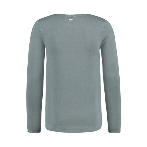 Purewhite KNITTED CLASSIC CREWNECK