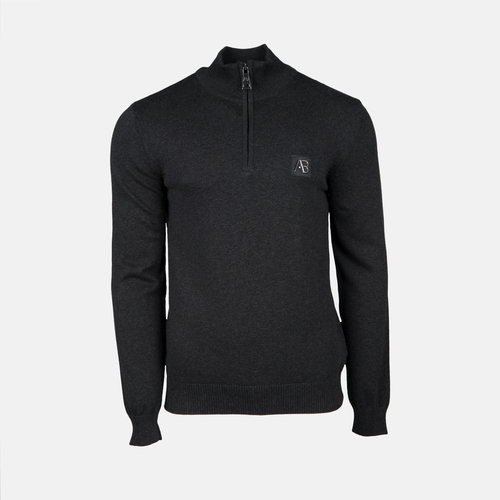 AB Lifestyle AB Half Zip Tricot Sweater