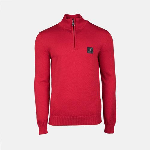 AB Lifestyle AB Half Zip Tricot Sweater