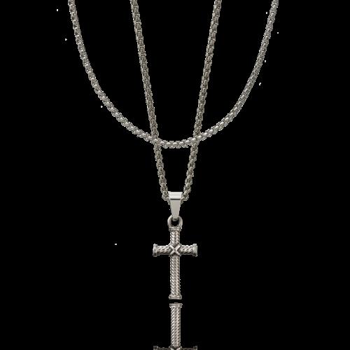 CROYEZ Cross Silver Layerup