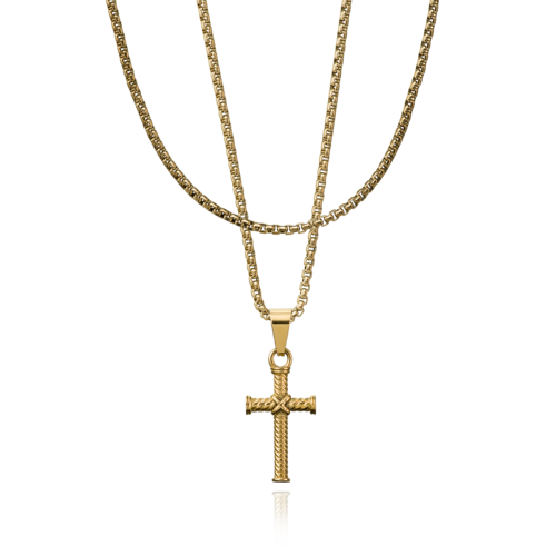 CROYEZ Cross Gold Layerup