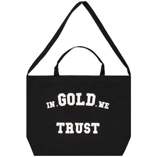 In Gold We Trust Shopper Bag