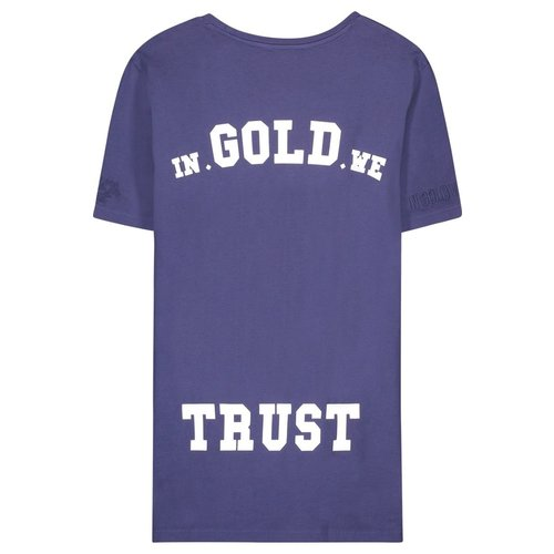 In Gold We Trust Basic Tee Eclipse