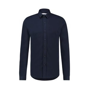 Purewhite ESSENTIAL SOFT SHIRT NAVY