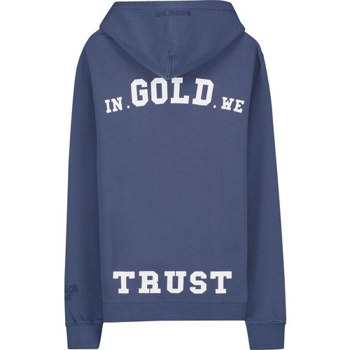 In Gold We Trust Garment Dye Hoodie Eclipse