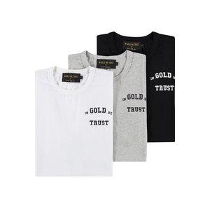 In Gold We Trust 3 pack T-shirt basics
