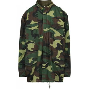 In Gold We Trust Camo Parka