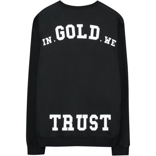 In Gold We Trust CREWNECK ZIPPER
