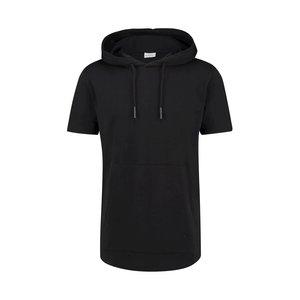 Purewhite HOODED T-SHIRT BLACK