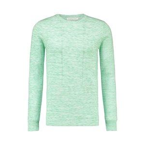 Purewhite Knitted Melange Crewneck Light Green