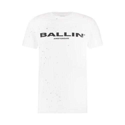 Ballin Amsterdam Ballin Logo T-shirt Paint
