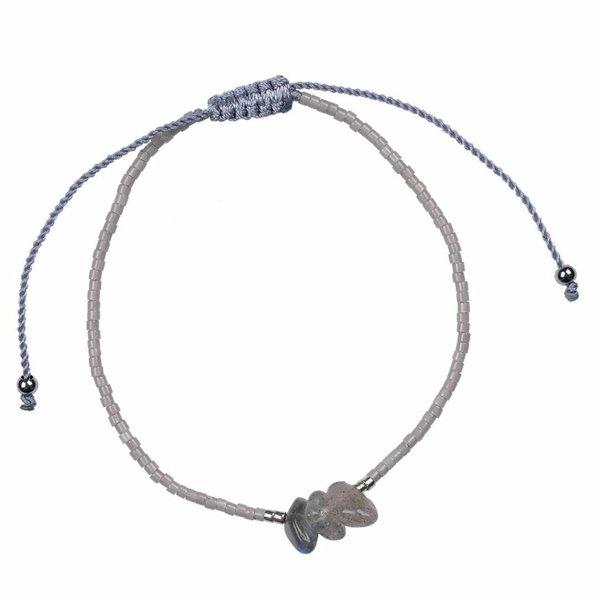 PimpsandPearls PimpsandPearls Treasure Rocks Pull Bracelet