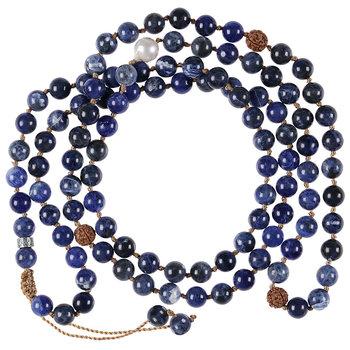 PimpsandPearls Mala Necklace XL Sodalite