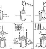 Sportes Sportes MITI-001 log stove