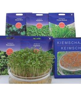 Biologisch zadenpakket kiemgroenten