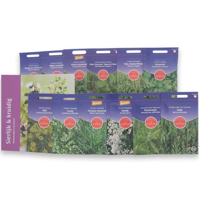 bolster Biologisch zadenpakket kruiden