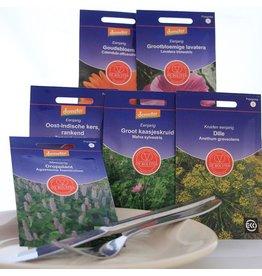 Biologisch zadenpakket eetbare bloemen