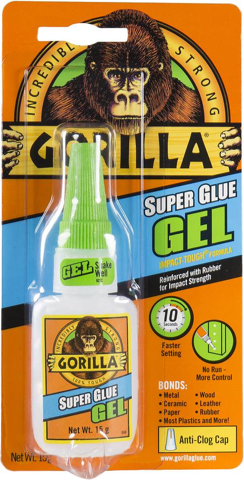Gorilla Gorilla Super Glue GEL 15ml flacon