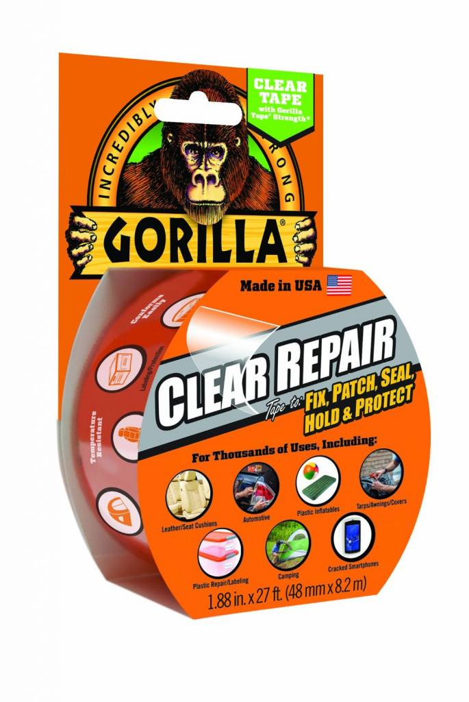 Gorilla Gorilla tape Clear repair