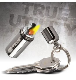 True Utility FireStash Peanut lighter, mini aansteker op benzine