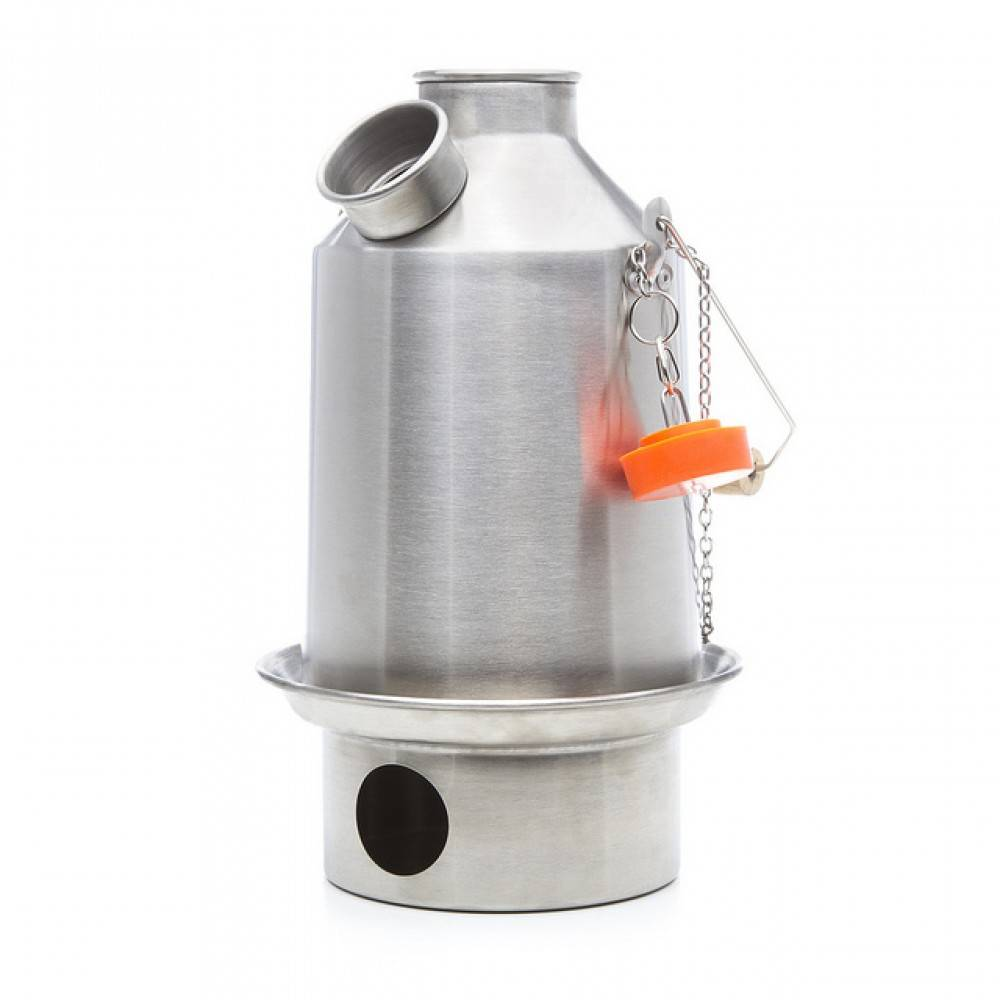 Kelly Kettle Kelly Kettle Scout Roestvrij staal 1,2L