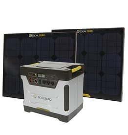 Goalzero Yeti 1250 Solar generator kit