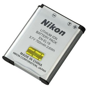 Nikon Accessoires Nikon EN-EL19 lithium-ion batterij