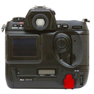 Nikon Onderdelen Rubber klepje I/O met metalen ombouw model D1H
