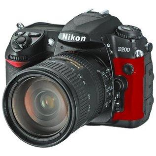 Nikon Onderdelen Rubber bekleding Links D200