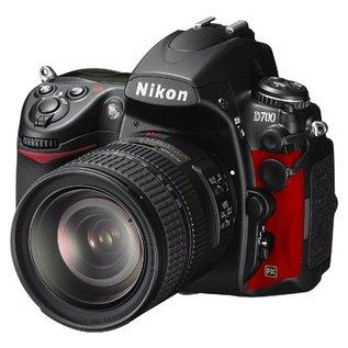 Nikon Onderdelen Rubber bekleding Links D700