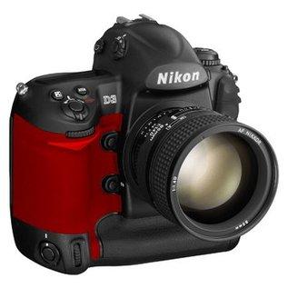 Nikon Onderdelen Rubber bekleding Grip D3