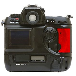 Nikon Onderdelen Rubber Bekleding CF deur met 2x plakkertje D1 serie