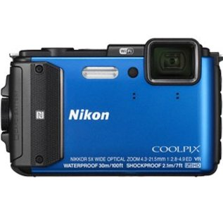 Nikon Occasion / Demo Coolpix AW130 blue (inclusief 12 maanden garantie)