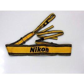 Nikon Accessoires Nikon camerariem geel - tweedehands