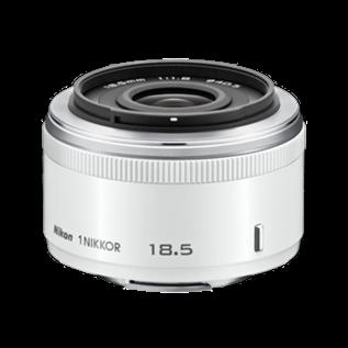 Nikon 1 NIKKOR 18.5MM F/1.8 wit (12 maanden garantie)