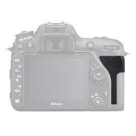 Nikon Onderdelen Rubber achter Nikon D7500