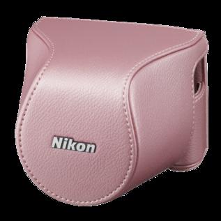 Nikon Accessoires Nikon CB-N2200S Pink Bodycase set voor Nikon 1 J3/S1