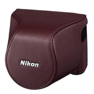 Nikon Accessoires Nikon CB-N2200S Wine red Bodycase set voor Nikon 1 J3/S1