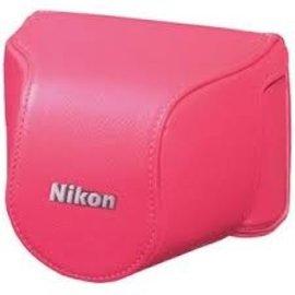 Nikon Accessoires Nikon CB-N2200S Bright Pink Bodycase set voor Nikon 1 J3/S1