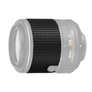 Nikon Onderdelen AF-S DX 55-200/4-5.6G ED VR II zoom rubber (114YZ)