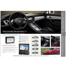 Porsche Rear view camera interface for PCM3.1 system incl. Video release.